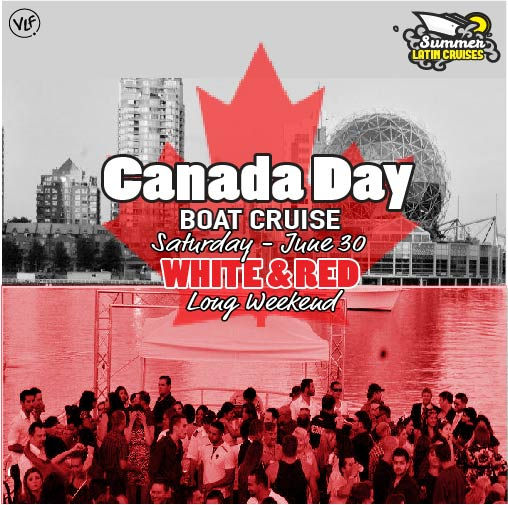 Latin cruises Jun 30 Canada Day